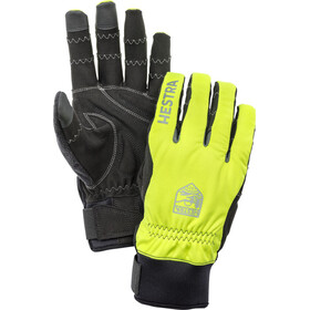 Hestra Ergo Grip Long Finger Gloves yellow/black